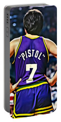 Pete Maravich Portable Battery Charger