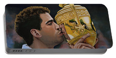 Pete Sampras Portable Battery Charger