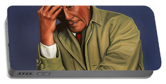 Peter Falk As Columbo Portable Battery Charger