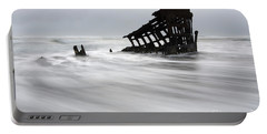 Peter Iredale Shipwreck Oregon 2 Portable Battery Charger