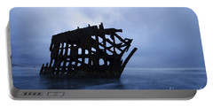 Peter Iredale Shipwreck Oregon 3 Portable Battery Charger
