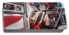 Peterbilt Interior Portable Battery Charger by Theresa Tahara