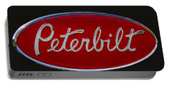 Peterbilt Semi Truck Logo Emblem Portable Battery Charger