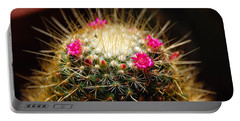 Petite Cactus Portable Battery Charger