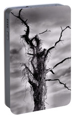 Portable Battery Charger featuring the photograph Petrified Tree by Rosalie Scanlon