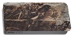 Petroglyph Bird Portable Battery Charger