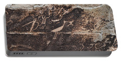 Petroglyph Bird Portable Battery Charger