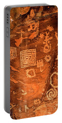Petroglyph Symbols Portable Battery Charger