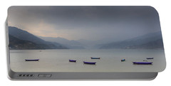 Phewa Lake In Pokhara Portable Battery Charger
