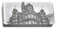 Philadelphia City Hall 1911 Portable Battery Charger