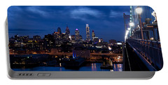 Philadelphia Twilight Portable Battery Charger