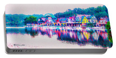 Philadelphia's Boathouse Row On The Schuylkill River Portable Battery Charger