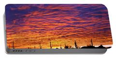 Phoenix Sunrise Portable Battery Charger by Jill Reger