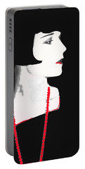 Photo Homage Louise Brooks Eugene Robert Richee Photo Circa 1927-2012 Portable Battery Charger