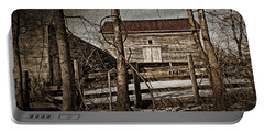 Country Barn Photograph Portable Battery Charger
