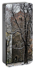 Piastowska Tower In Cieszyn Portable Battery Charger by Mariola Bitner