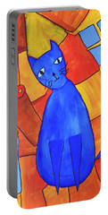 Picasso's Blue Cat Portable Battery Charger