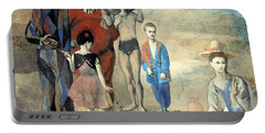 Picasso's Family Of Saltimbanques Portable Battery Charger by Cora Wandel