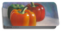 Pick A Pepper Portable Battery Charger by Laurie Morgan