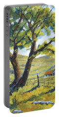 Picnic With A View By Prankearts Portable Battery Charger