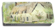 Picturesque Dunster Cottage Portable Battery Charger