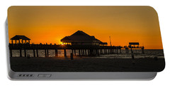 Pier 60 Sunset Portable Battery Charger