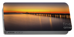 Pier Before Dawn Portable Battery Charger