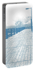 Pier In Blue Portable Battery Charger