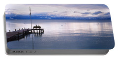 Pier On The Water, Lake Tahoe Portable Battery Charger