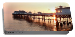 Pier Sunrise  Portable Battery Charger