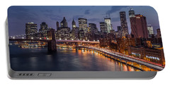 Piercing Manhattan Portable Battery Charger by Mihai Andritoiu