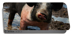 Pig In The Mud Portable Battery Charger