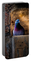 Pigeon Of The City Portable Battery Charger