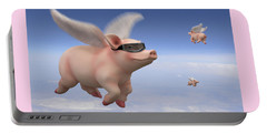 Pigs Fly Portable Battery Charger