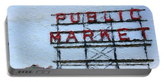 Pike Place Market Portable Battery Charger