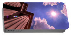 Portable Battery Charger featuring the photograph Pillars In The Sun by Matt Harang