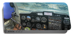Pilot In Cessna Cockpit Portable Battery Charger
