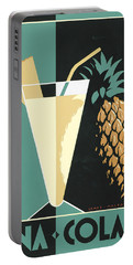 Pina Colada Portable Battery Charger by Brian James