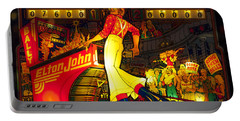 Pinball Machine Capt. Fantastic Portable Battery Charger by Terry DeLuco