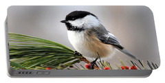Pine Chickadee Portable Battery Charger