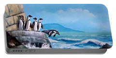 Pinguinos De Humboldt Portable Battery Charger