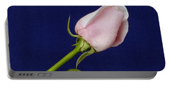 Pink Bud Portable Battery Charger by Michael Gordon