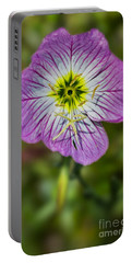 Pink Evening Primrose Portable Battery Charger