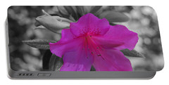 Pink Flower 2 Portable Battery Charger