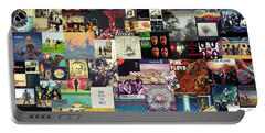 Pink Floyd Collage I Portable Battery Charger