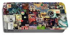 Pink Floyd Collage II Portable Battery Charger