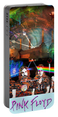 Pink Floyd Collage Portable Battery Charger