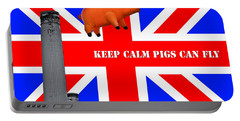 Pink Floyd Pig Portable Battery Charger