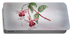 Pink Fuchsia's  Portable Battery Charger