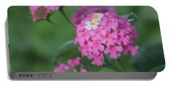 Pink Lantana 2 Portable Battery Charger